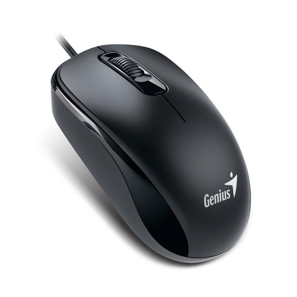 Genius Mysz optyczna DX-110 PS2 Calm black