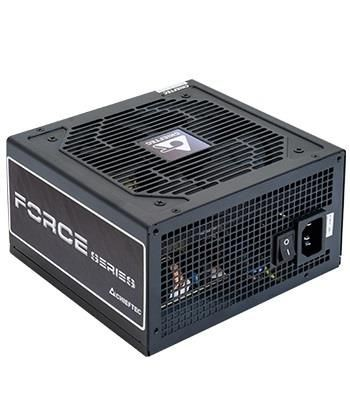 Chieftec zasilacz ATX serii FORCE, CPS-750S, 12cm fan, 750W retail
