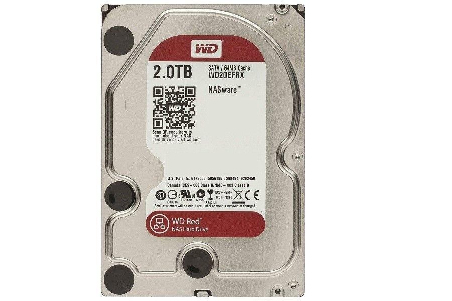 Western Digital DYSK TWARDY 3.5 2TB 7200 SATAIII 64MB RED /GW.24M