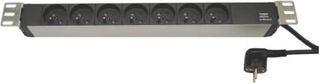 Fideltronik listwa zasilająca 7 gniazd (rack 19'', 1U)