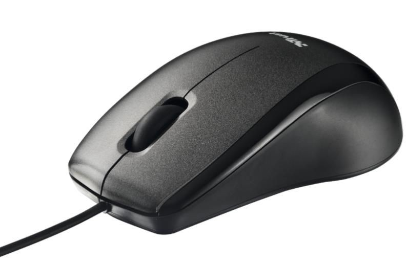 Trust Carve Optical Mouse USB black