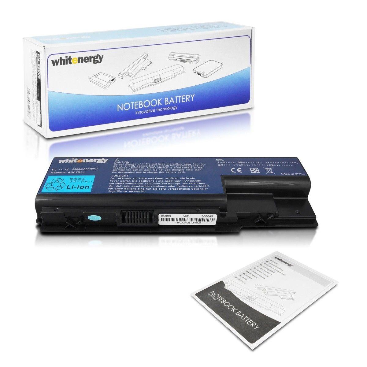 Whitenergy bateria Acer Aspire 5920 11.1V Li-Ion 4400mAh