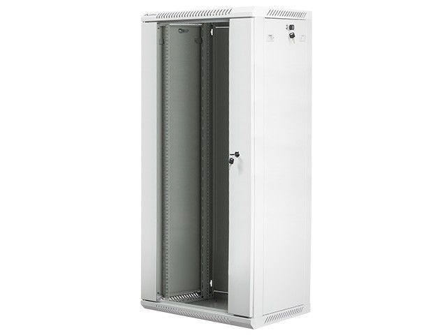 Lanberg szafa instalacyjna wisząca 19'' 27U 600x450mm szara (drzwi szklane)