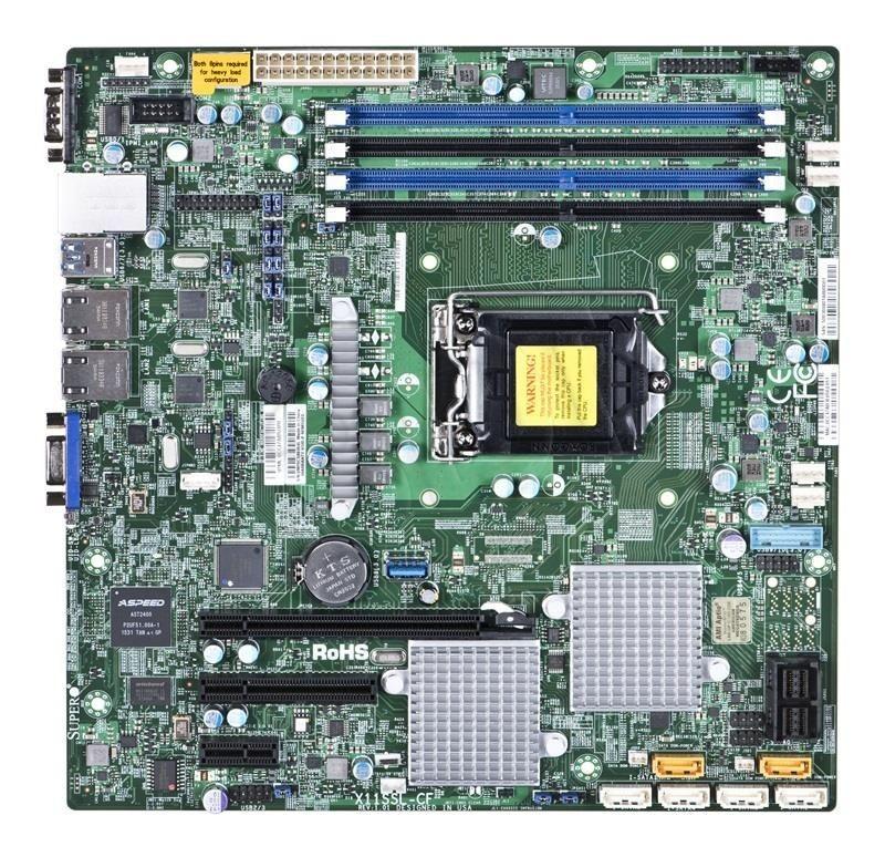 Supermicro Płyta serwerowa MBD-X11SSL-CF-O