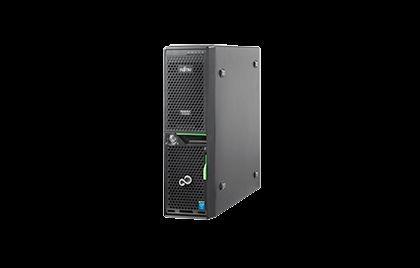Fujitsu TX1320 M2 LFF HDDs (obudowa serwera Ultra-compact form-factor)/1x Intel Xeon E3-1220v5/1x 8 GB DDR4 1600 ub ECC, max 64GB/0,1,10 SATA, inne opcja/2x 1000GB SATA, NoHotPlug (Business Critical 72k, 6G) / Max 2 dyski 3,5 SATA, NoHotPlug Opcjonalny ko