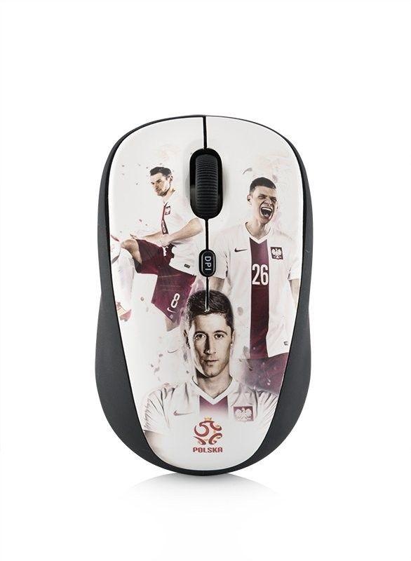 ModeCom  Przewodowa mysz optyczna MC-WM6 PZPN WHITE