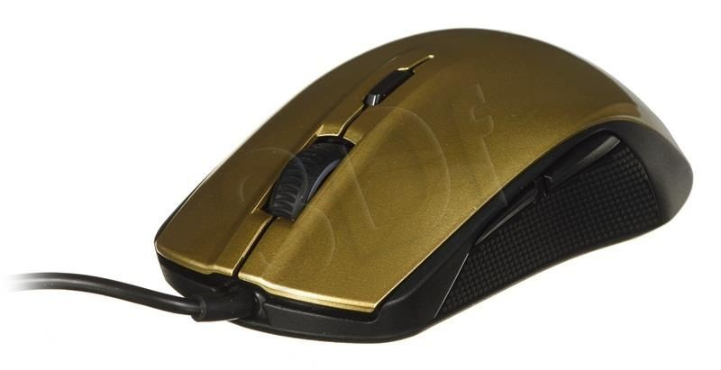 SteelSeries Mysz Gamingowa Rival 100 Alchemy Gold