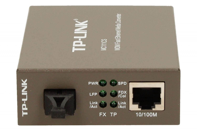 TP-Link MC111CS (konwerter światłowodowy WDM singlemodowy)