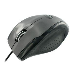 4World Mysz optyczna Ergo1 USB czarno-grafitowa