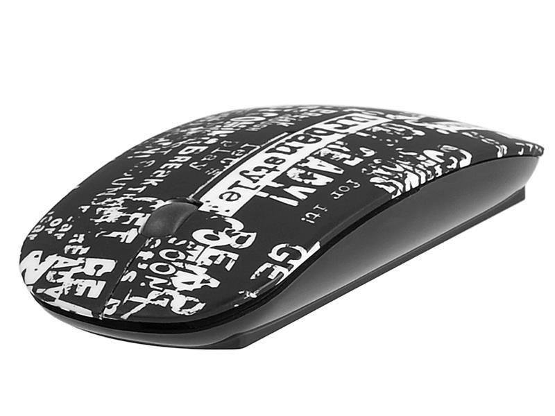 Tracer Mysz bezprzewodowa Tracer Urban Style NANO RF czarno-biała