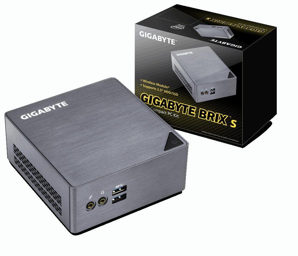 Gigabyte BRIX GB-BSi3H-6100 GB-XS3B6H IG, i3-6100U 2.3GHz, 2xDDR3L1600MHz, 4xUSB 3.0