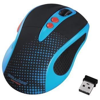 Hama Mysz bezprzewodowa KNALLBUNT 2.0 optyczna czarno-niebieska