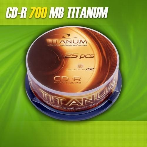Titanum CD-R 56x 700MB (Cake 25)