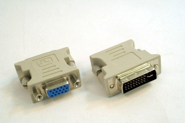Gembird adapter DVI-A/VGA (24M/15F)