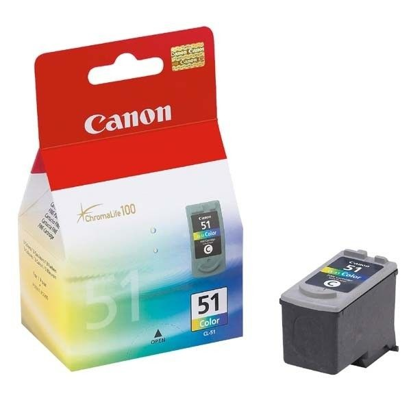 Canon głowica CL51 color BLISTER (21ml, iP2200/6210/6220/MP150/170)