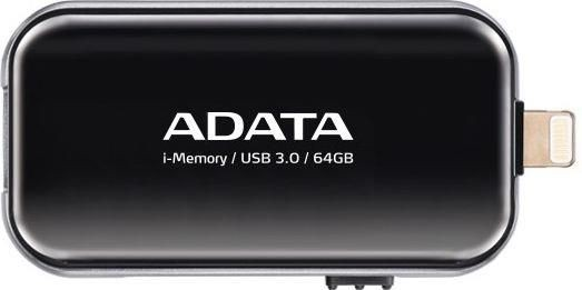 A-Data Adata i-Memory Flash Drive UE710 64GB, iOS support, USB3.0, black