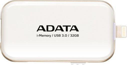 A-Data Adata i-Memory Flash Drive UE710 128GB, iOS support, USB3.0, white