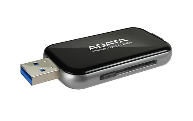 A-Data Adata i-Memory Flash Drive UE710 128GB, iOS support, USB3.0, black
