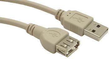 Gembird AM-AF kabel, przedłużacz USB 2.0 0.75M