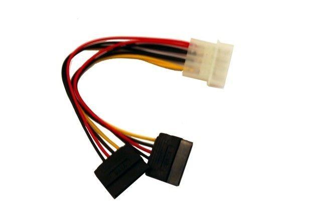Gembird kabel do dysków serial ata zasilający X2 SATA