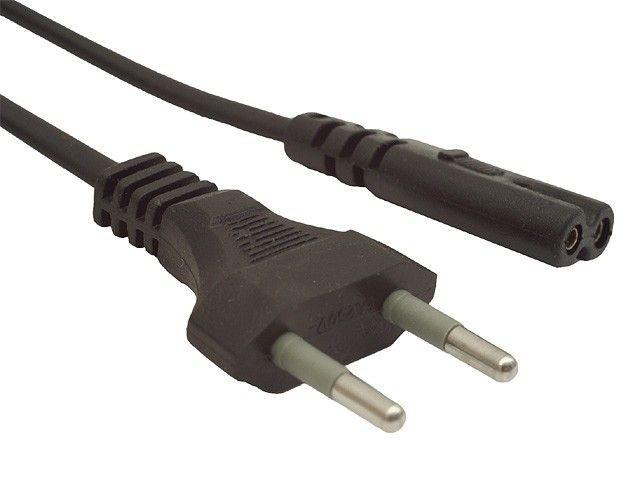 Gembird kabel zasilający ''ósemka'' C7 do notebooka, radiowy 1.8m