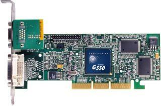 Matrox Millennium G550 32MB (DDR, DualHead, AGP, retail)