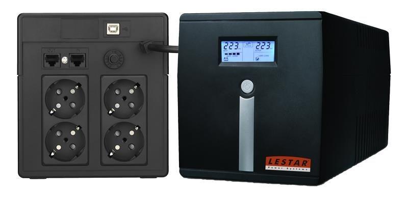 Lestar UPS MCL-1200SSU AVR 4xSCH USB