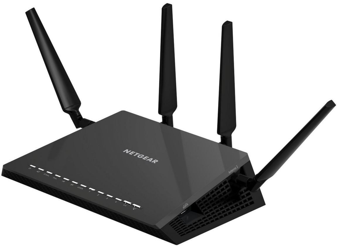 Netgear AC2600 Nighthawk X4S SMART WiFi Router Dual-Band Quad-Stream GbE (R7800)