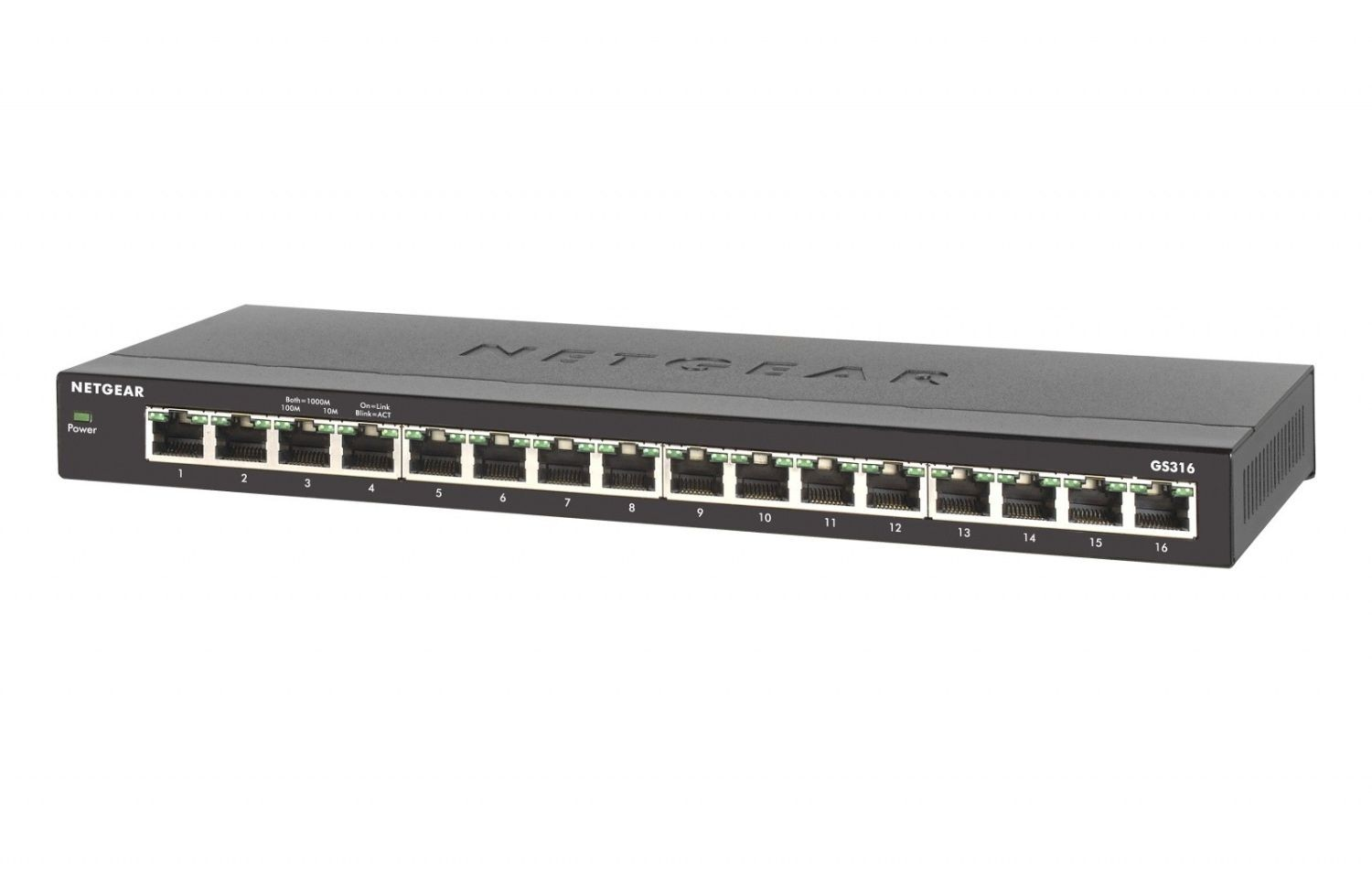 Netgear 16-Port Gigabit Desktop Switch Metal (GS316)
