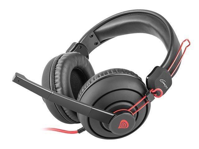 NATEC Słuchawki GENESIS H70 z mikrofonem, 1 x Mini Jack 3,5 mm (GAMING)