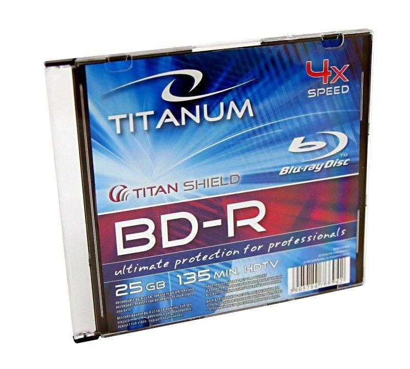 Esperanza BD-R 25GB 4x Titanum (slim case, 1szt)