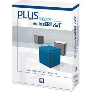InsERT niebieski PLUS dla InsERT GT (rozszerzenie funkcjonalne)