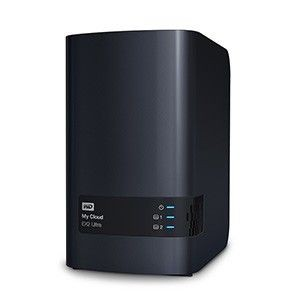 Western Digital NAS WD My Cloud EX2 Ultra, RAID, 0TB, 10/100/1000 Mb/s, czarny