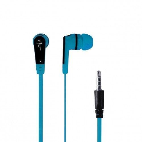 ART SŁUCHAWKI DOUSZNE Z MIKROF S2E niebieskie smartphone/MP3/tablet