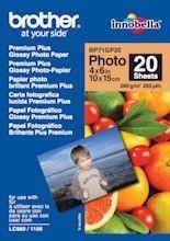 Brother Papier fotograficzny BP71GP20 | 20ark | błyszczący 6''x4''