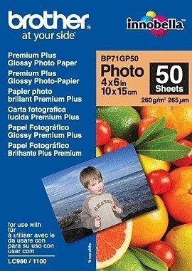 Brother Papier fotograficzny BP71GP50 | 50ark | błyszczący 6''x4''