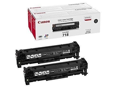 Canon Toner CLBP718 BK 2P | LBP7200/LBP7210/ LBP7660/ LBP7680