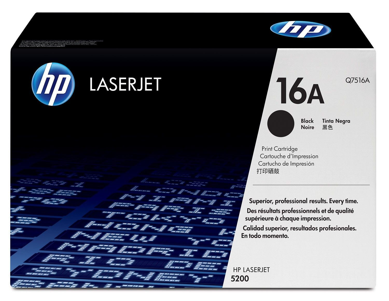 HP toner black (12000str, LJ5200)