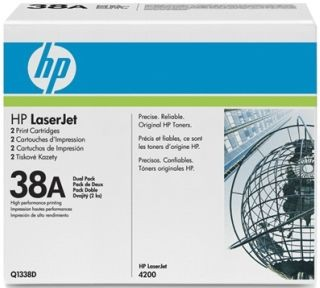 HP toner black dual pack (2x12000str, LJ4200)