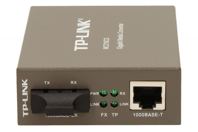 TP-Link MC210CS konwerter 1000BaseT (RJ45) - 1000BaseLX (SC) SingleMode 15km