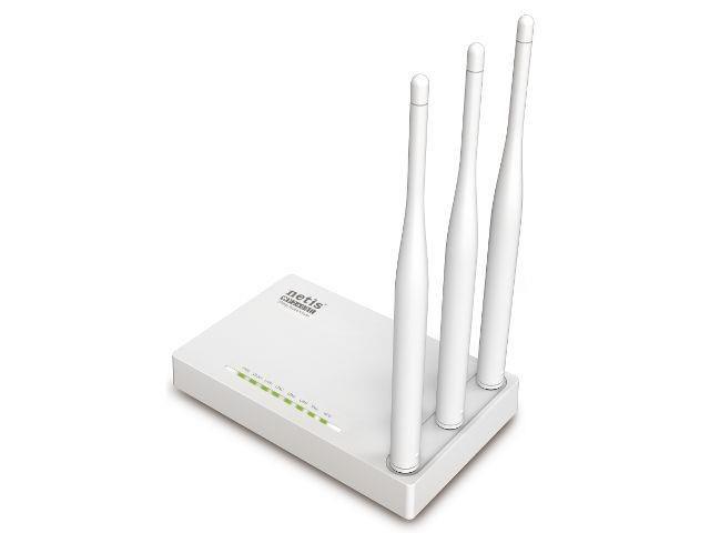 Netis Router DSL WIFI G/N300 + LAN x4, 3x Antena 5 dBi