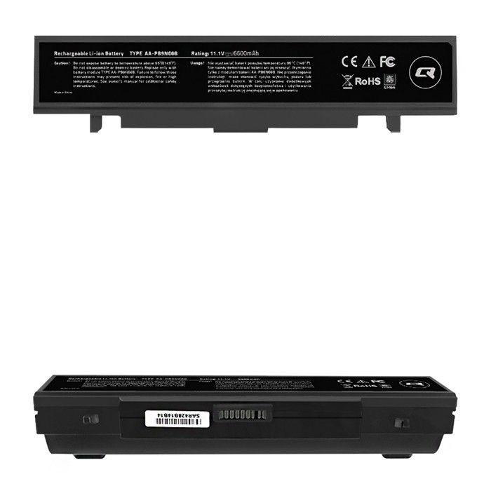 Qoltec Bateria do laptopa Samsung R530 R540 R580 | 10.8-11.1 V | 6600mAh