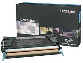 Lexmark toner black (12000str, C736/ X736/ X738)