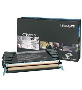 Lexmark toner black (8000str, C734/ C736/ X734/ X736/ X738)