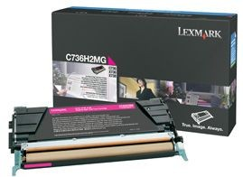 Lexmark toner magenta (10000str, C736/ X736/ X738)
