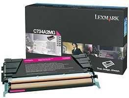 Lexmark toner magenta (6000str, C734/ C736/ X734/ X736/ X738)