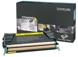 Lexmark toner yellow (6000str, C734/ C736/ X734/ X736/ X738)