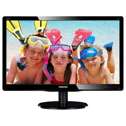 Philips Monitor 200V4LAB2/00, 19.5, 1600x900, D-Sub, DVI