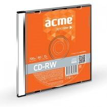 Acme CD-RW ACME 80/700MB 12X slim box