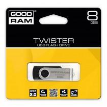 GoodRam Pamieć USB UTS2 8GB USB 2.0 Czarna